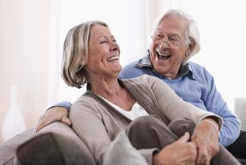 Deutschland, Wakendorf, älteres Paar, Senioren