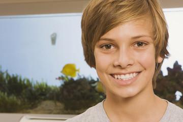 Teenager , Lächeln