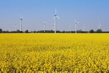 Deutschland, Niedersachsen, Windpark