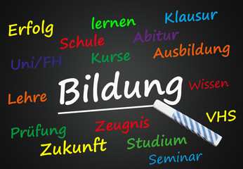 Bildung (Schule, Universität, Ausbildung,Wissen)