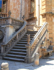 Antica scala di ingresso