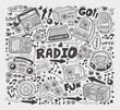 doodle radio elements