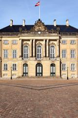 Schloss Amalienborg, Palais Brockdorff, Kopenhagen