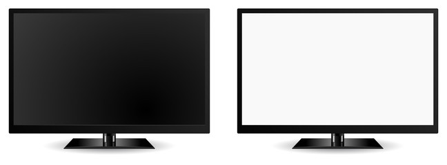 modern tv vector 3d icon
