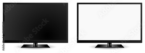 modern tv vector 3d icon - 55009559