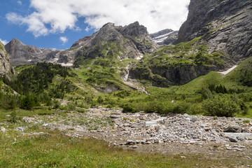 Cirque de l'arcelin - sommets et rochers