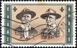 Greek Scout Movement founders (Greece 1963)