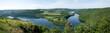 Panorama Stausee Luxemburg
