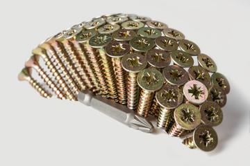 Wall of screws