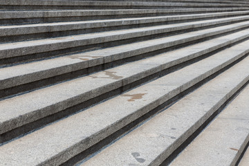 Granite stone steps background