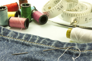 tools used for sewing