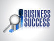 business success under review illustration