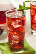 Cold Refreshing Berry Hibiscus Ice Tea