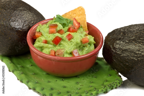 Avocados and Guacamole.