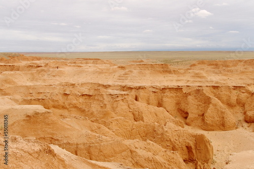 Flaming Cliffs in Mongolia