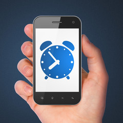 Timeline concept: Alarm Clock on smartphone