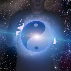 Yin Yang Star Man