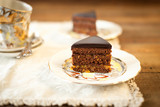 Sacher chocolate cake