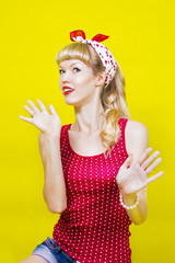 image pin up girl