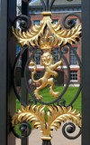 Lion from door of Kensington Palace poster