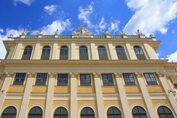 Schloss Schoenbrunn Palace in Vienna