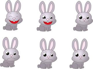 Rabbit emoticon