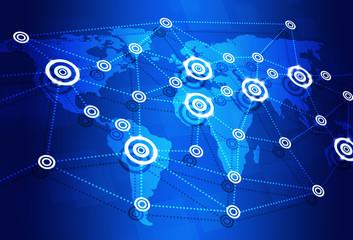 Global Internet Concept