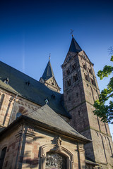 historic Dom St.Petri in Fritzlar Germany
