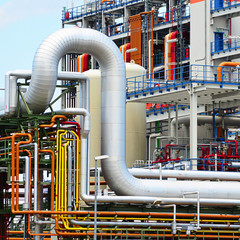 chemistry industry - pipelines