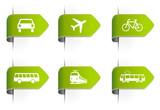 Fototapety Grüne Symbole Verkehr