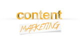 Content Marketing, blog Copywriting, Success concept