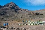 Mawenzi Tarn Campsite, Kilimanjaro poster