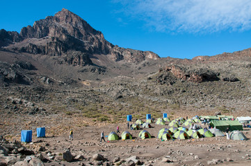 Mawenzi Tarn Campsite, Kilimanjaro