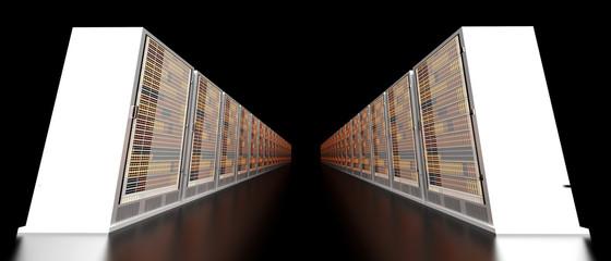 Server center.