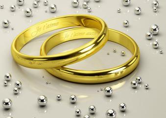 Alliances mariage_Je t'aime