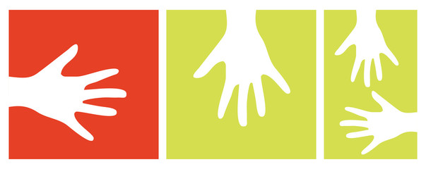 hands vector illustration