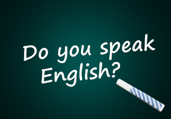 Do you speak English? (language school, course)