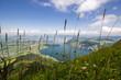 Vierwaldstättersee: Berge, See, Wiesen, Himmel und Wolken