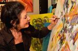 Mature Woman Artist