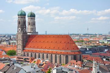 Frauenkirche in München / Bayern