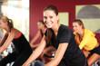 Im Fitnessstudio