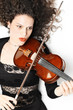 Violin playing violinist expressive musician