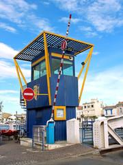 cabine de pont-tournant