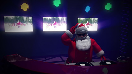 DJ Santa version 2. Seamless loop.