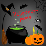 halloween cartoon background