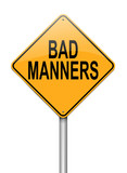 Bad manners concept.