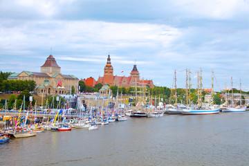 Szczecin - Waly Chrobrego and Odra, Zachodniopomorskie, Poland