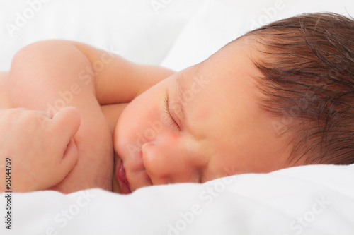 newborn baby, only a few hours old