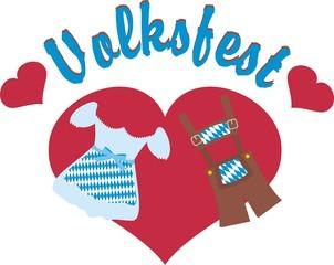 Voksfest mit Herz - Logo