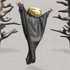 Haunted Pumpkin of Halloween
